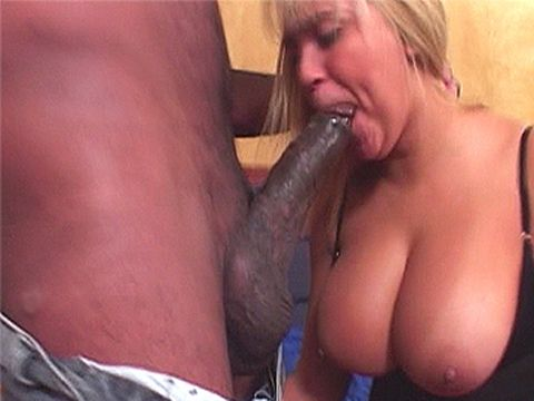 Huge black dick fucking blonde